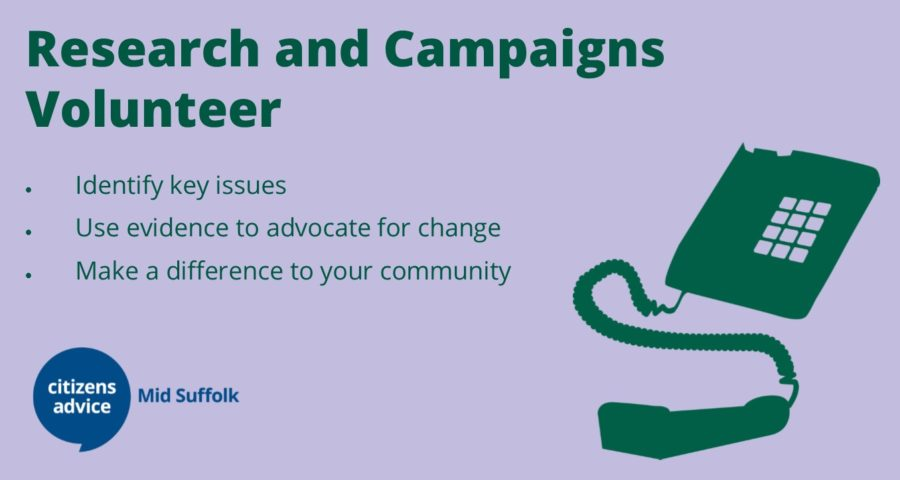 Research and Campaigns Volunteer