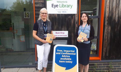 New Eye Library advice service